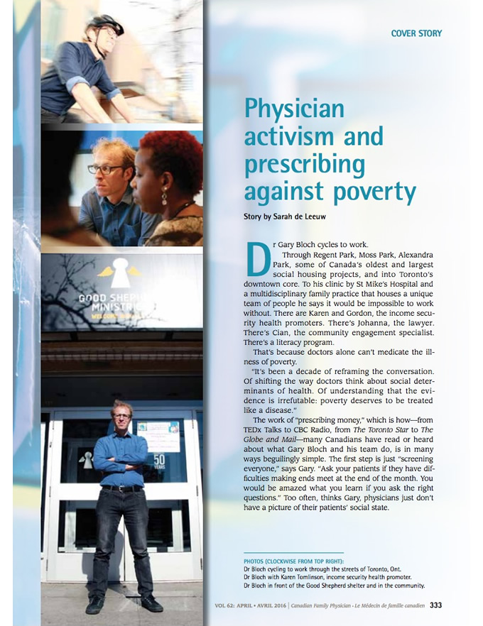 Physician activism and prescribing against poverty