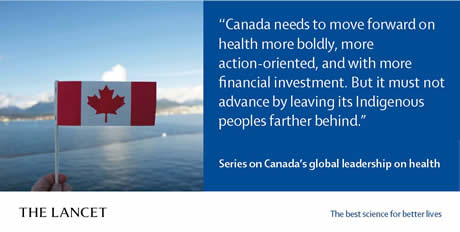 The Lancet's Series on Canada